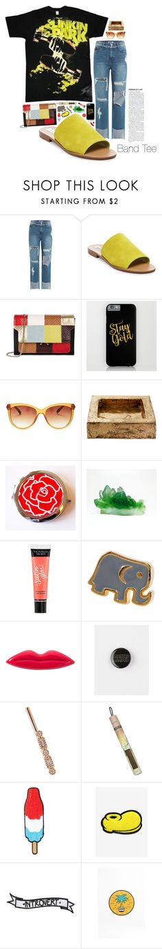 """""""RIP Chester💫"""" by imaniasaboor ❤ liked on Polyvore featuring SJYP, Steve Madden, Marni, Lucky Brand, Osanna Visconti di Modrone, Victoria's Secret, Dogeared, Sonia Rykiel, STONE and Juniper Ridge"""