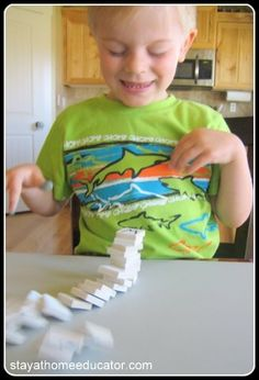 ABC Letter Stack Game - Stay At Home Educator