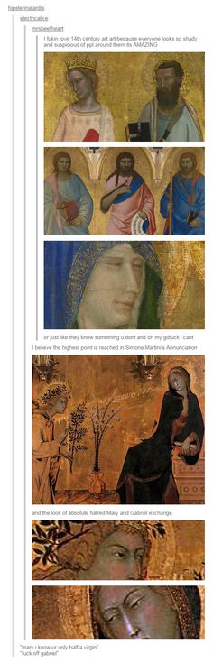 The people who painted these probably never dreamed...