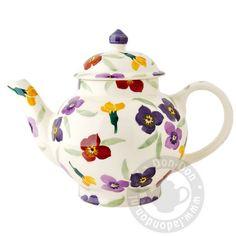 e2377040657d 4 Cup Teapot Wallflower Emma Bridgewater, Trash To Treasure, Chocolate Pots,  Fine China