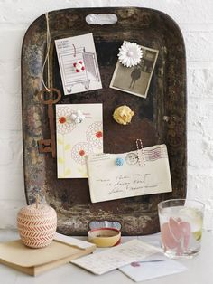 DIYs to Help You Get Organized: 7 Seriously Stylish Home Message Centers | Apartment Therapy