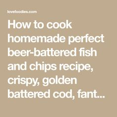 Battered Cod, Beer Battered Fish, Seafood Dishes, Seafood Recipes, Fried Flounder, Deep Fried Fish, Roast Beef Dinner, Fish And Chip Shop, Fried Fish Recipes