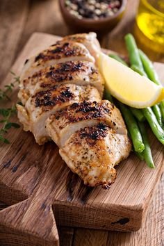 Easy Lemon Grilled Chicken Breast | FoodLove.com