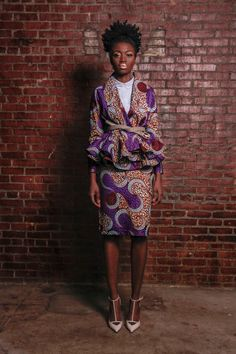 NEW The Patricia Wrap Cardigan Jacket African by DemestiksNewYork