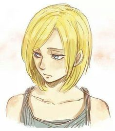 Attack on Titan Anime http://anime.about.com/od/Attack-on-Titan/ss/The-5-Best-Characters-in-Attack-on-Titan.htm Annie Leonhardt