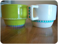 Painted Mugs 1