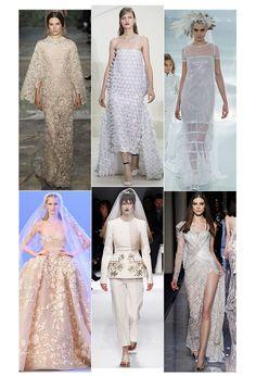 Les robes de mariée de la haute couture printemps-été 2014 http://www.vogue.fr/mariage/tendances/diaporama/les-robes-de-mariee-de-la-haute-couture-2/17268