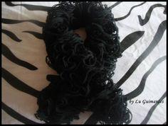Cachecol confeccionado com fio tipo teia, pode ser feito da cor preferida R$ 35,00