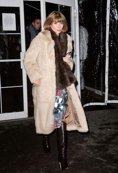Anna Wintour's Street Style