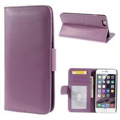 Köp Plånboksfodral Smooth Apple iPhone 6 Plus lila online: http://www.phonelife.se/planboksfodral-smooth-apple-iphone-6-plus-lila