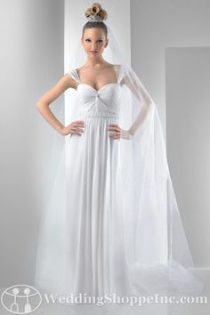 Bridal Gowns Bari Jay  2012 Bridal Gown Image 1    Not a fan of the hair but I like the dress...