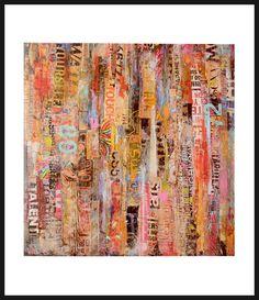 Erin Ashley Premium Thick-Wrap Canvas Wall Art Print entitled Metromix 22 None Painting Prints, Wall Art Prints, Poster Prints, Canvas Prints, Framed Prints, Paintings, Framed Wall Art, Canvas Wall Art, Big Canvas