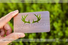 My Metal Business Card | World Leader in Metal Business Cards