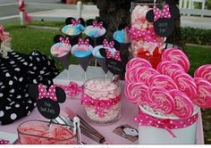 Minnie Mouse Sweets