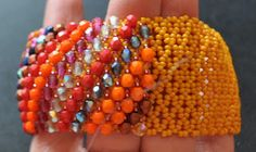 AMIRkoraliki - Biżuteryjne UnikatTY: Tutorial - bransoleta caprice