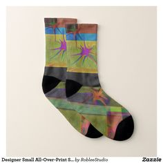 Designer Small All-Over-Print Socks #socks #sock #fashion #shopping #style #clothes #onlineshopping #apparel