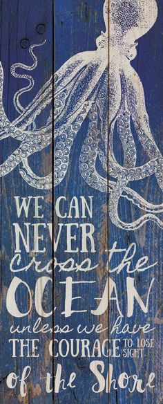 """Hand-assembled with a weathered, nautical look, this Pallet Wall Sign will bring joyful reminder of the ocean, beach or any summertime vacation - measures 10.5"""" x 26"""" - rustic, weathered designs - can"""