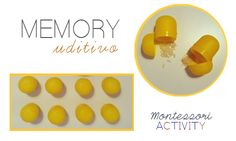 Memory Uditivo | MiniFactory craft velocissimo per realizzare degli strumenti sonori riciclando le capsule degli ovetti kinder