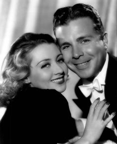 Dick Powell and Joan Blondell