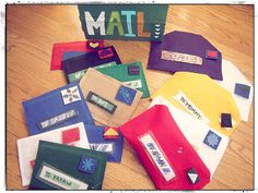 4 Ways to Make your Own Pretend Play Post Office - Buggy and Buddy