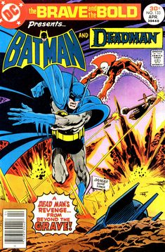 The Brave and the Bold (Vol 1 Batman / Deadman Comic Book Superheroes, Dc Comic Books, Comic Book Artists, Comic Book Covers, Comic Book Heroes, Comic Art, Batman And Superman, Batman Comics, Dc Comics