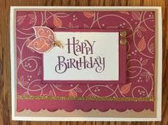 close to my heart card sangria - Google Search