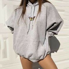 Oversized Hoodie Outfit, Hoodie Outfit Casual, Stylish Hoodies, Comfy Hoodies, Pastel Outfit, Mode Kpop, Cute Lazy Outfits, Vetement Fashion, Kawaii Clothes