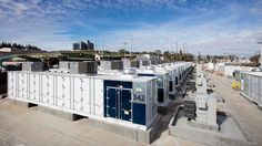 The world's largest lithium-ion battery in the city of Escondido stores exceed energy from renewables with a capacity of 120 MWh.