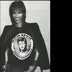 Iman, le grand amour de David Bowie lui rend hommage
