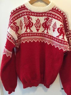 Ditt sted å kjøpe og selge alt håndlaget - Hello Jumper Patterns, Knitting Patterns, Christmas Jumpers, Christmas Sweaters, Liverpool, Nordic Sweater, Hand Knitting, Custom Made, Wool
