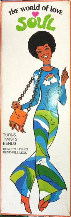 World of Love Soul doll  1970s