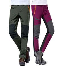 4b6a1c1918a Encontrar Más Pantalones de senderismo Información acerca de S 4xl tallas  grandes 2015 winter women &
