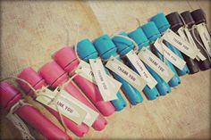 Cute For A Flashlight Tag Party! Instead of thank you put the names of the people participating!