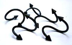 Barbell Earrings, Tragus Earrings, Upper Ear Piercing, Body Piercing, Septum Nose Rings, Ear Piercings, Faux Nose Ring, Fake Nose, Industrial Barbell