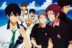 Haru, Makoto, Nagisa, Rei, Nitori, Rin, Sousuke