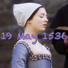 The execution of Anne Boleyn