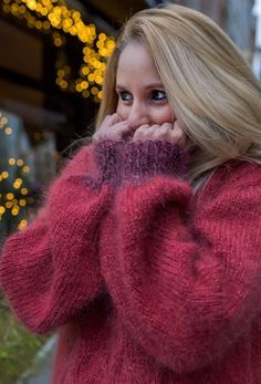 Thick Sweaters, Wool Sweaters, Sweaters For Women, Fluffy Sweater, Angora Sweater, Turtleneck, Gros Pull Mohair, Sweater Outfits, Knitwear