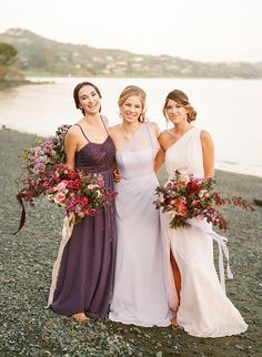 david's bridal jenny packham bridesmaid dresses, ombre bridesmaid dresses, max gill, christina mcneill