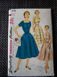 vintage 50's style patter