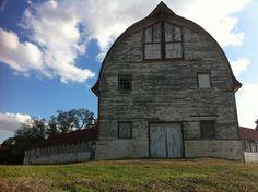 Old barn at Central. Pineville, La