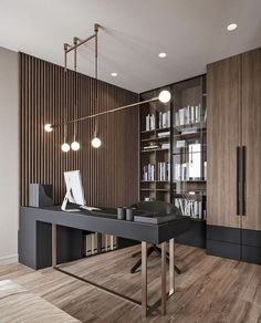 Tips and ideas for home office design layout makeovers to inspire creativity and boost productivity. home renovation 20 Home Office Ideas (Modern Style and Comfortable) - Pandriva Small Office Design, Office Interior Design, Home Office Decor, Office Interiors, Office Ideas, Office Designs, Office Furniture, Modern Furniture, Furniture Design