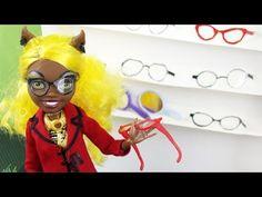 Make Doll Eye Glasses- Doll Crafts - YouTube