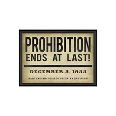 Read All About It Prohibition Sign | dotandbo.com