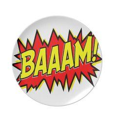 BAAAM! PARTY PLATE #pinhonest