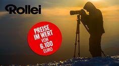 Für die große Jahreszeiten-Aktion suchen Rollei und COMPUTER BILD fotobegeisterte Leser – ganz gleich, ob Sie Einsteiger oder ambitionierter Fotograf mit Spiegelreflex-Ausrüstung sind. Es warten Preise im Gesamtwert von 6.100 Euro!