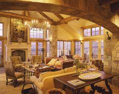 Fireplace by Bercovitz Design Architects