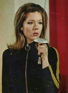 Diana Rigg as Emma Peel from The Avengers