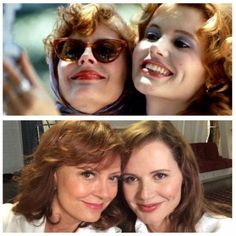 Susan Sarandon and Geena Davis Honor Thelma & Louise, Recreate Iconic Selfie