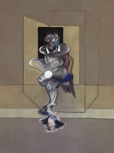 Francis Bacon, Study for Selfportrait, 1976.