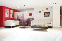 Interior de la oficina de Centro Inmobiliario Madrid